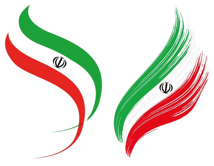 Image result for ‫پرچم ایران‬‎