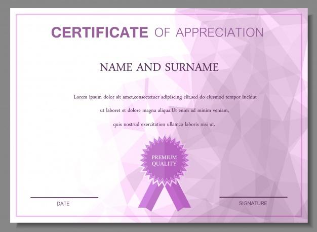 0860s - دانلود لایه باز قالب گواهینامه