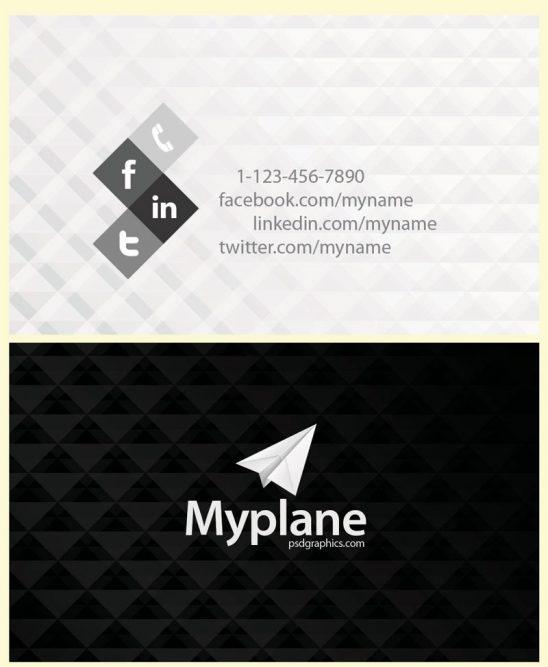 p110 548x667 - لایه باز کارت ویزیت مدرن مشکی سفید