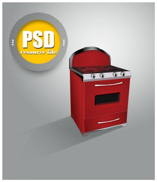 p117 548x635 - لایه باز رایگان اجاق گاز قرمز فانتزی