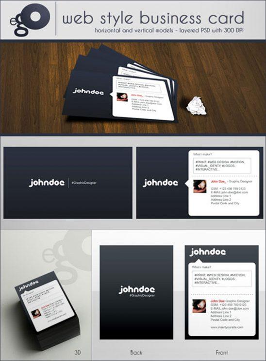 p88 548x741 - لایه باز کارت ویزیت زیبا شخصی مدرن وب استایل