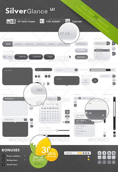 p98 72 psd 1500 1200 2m - لایه باز وب اپلیکیشن دکمه ها و تاریخ