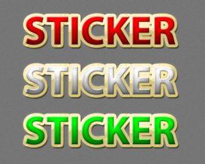 p189 3 300x240 - لایه باز رایگان استایل نوشته استیکر برچسب متن