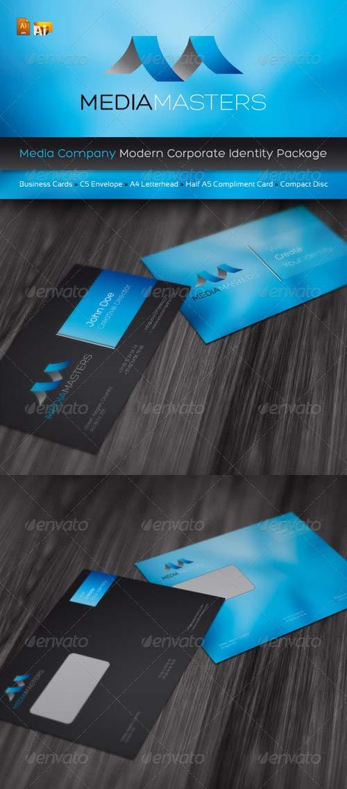 p213 - لایه باز رایگان کارت ویزیت مدرن خلاقانه آبی (eps)