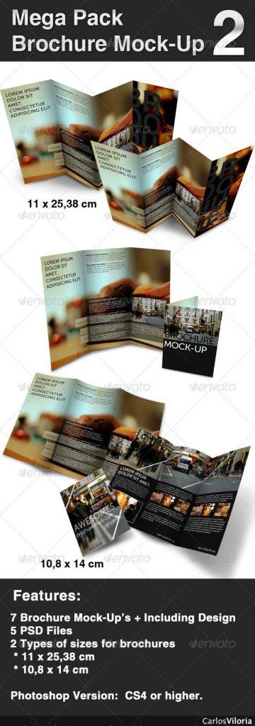 p238 360x1024 - موکاپ حرفه ای بروشور سه لت (مگاپک کامل) ویژه ارائه نمونه کار