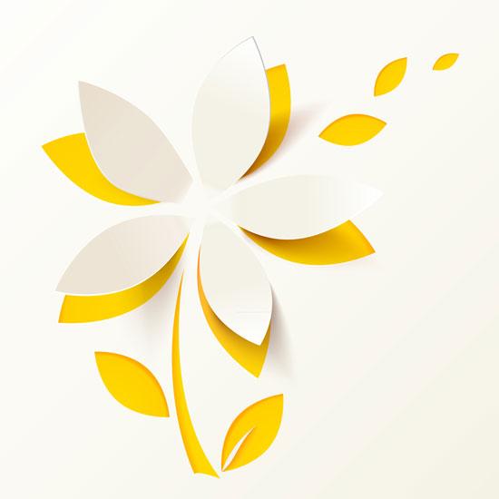 01198s - لایه باز وکتور گلهای بهاری زیبا