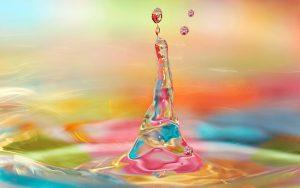 3D Colorful Water Drop Splash Wallpapers 300x188 - زمینه زیبا و با کیفیت مخصوص طراحی زیبا