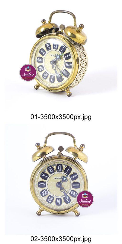 p310 512x1024 - عکس با کیفیت ساعت شماطه دار طلایی