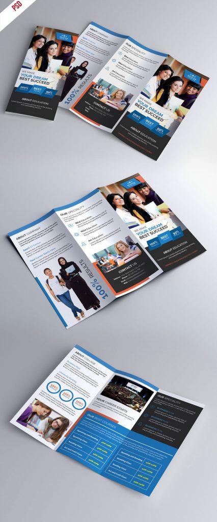 p339 426x1024 - لایه باز بروشور سه لت مراکز آموزشی و دانشگاه