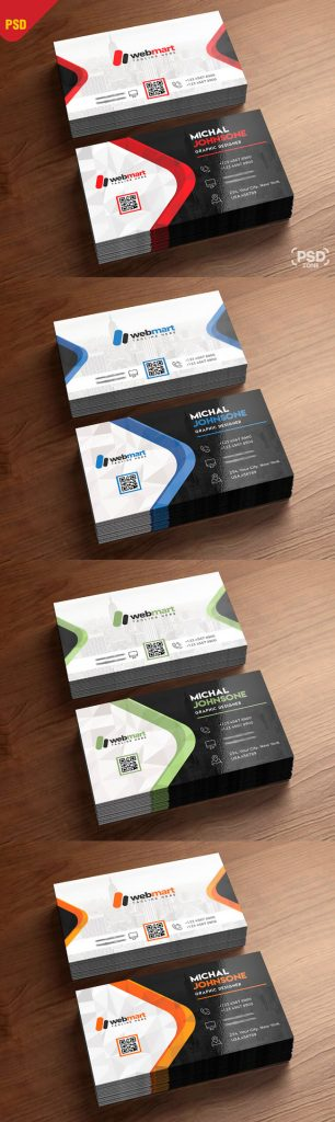 p377 306x1024 - لایه باز کارت ویزیت مدرن بسیار زیبا و خلاقانه