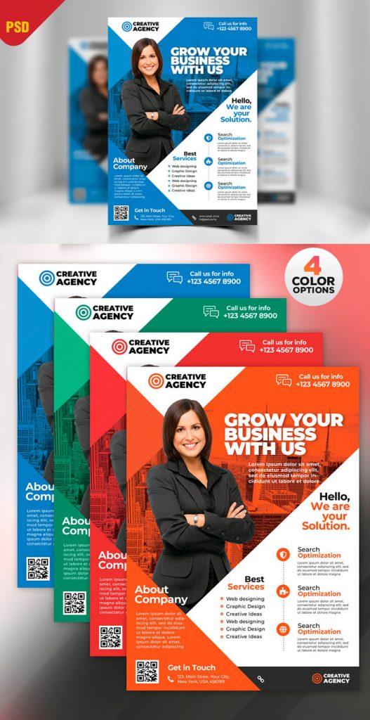 p382 527x1024 - لایه باز پوستر انتخاباتی و معرفی خدمات شرکت تولیدی، تجاری و بازرگانی در چهار رنگ زیبا