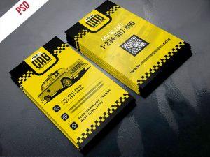p414 300x225 - طرح آماده کارت ویزیت آژانس تاکسی و حمل و نقل پیک موتوری