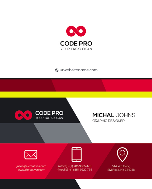 m54 - لایه باز کارت ویزیت / تجاری / کسب و کار / مدرن / معرفی شرکت