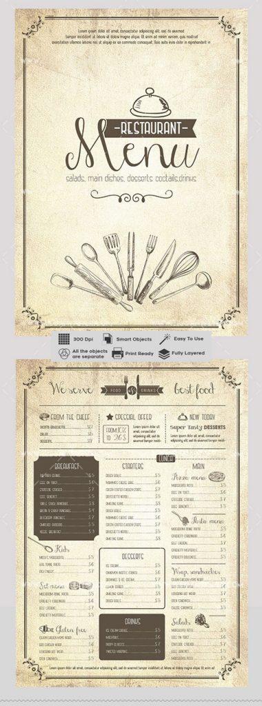 p428 380x1024 - لایه باز منوی بی نظیر رستوران فست فود و کترینگ های آشپزخانه کلاسیک با کیفیت بی نظیر