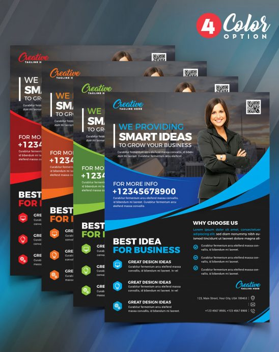 p452 548x691 - لایه باز پوستر یا تراکت انتخاباتی با امکان معرفی شخصی یا خدمات شرکت تجاری بازرگانی
