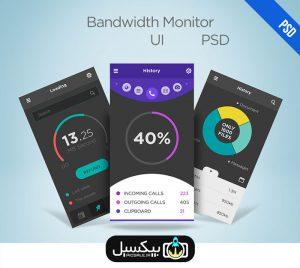 p556 300x268 - طرح آماده لایه باز اپلیکیشن مانیتور پهنای باند شبکه Bandwidth Monitor فوق العاده کاربردی در سه طرح مختلف
