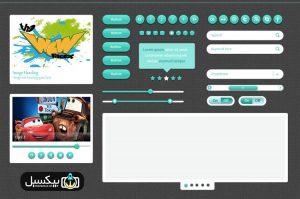 p559 300x199 - لایه باز آبجکت های گرافیکی وب اپلیکیشن پخش موسیقی و اسلایدشو گالری