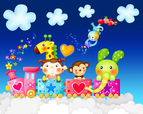 m252 - دانلود لایه باز فریم های کارتونی و انیمیشینی برای طراحی تراکت و پوستر مهدکودک و پیش دبستانی و کودکان