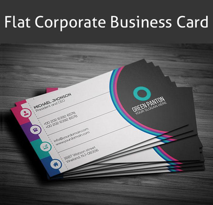 p703 - وکتور کارت ویزیت شرکت تجاری بازرگانی
