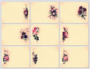 p708 300x230 - 9 عکس گل زیبای کوچک طرح قدیمی ویژه شبکه های اجتماعی و درج پیام های فرهنگی و عاشقانه