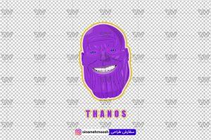 Thanos 300x200 - دانلود رایگان وکتور آماده لایه باز شخصیت تانوس Thanos
