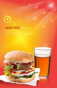 p56 195x300 - لایه باز پوستر فست فود و ساندویچ