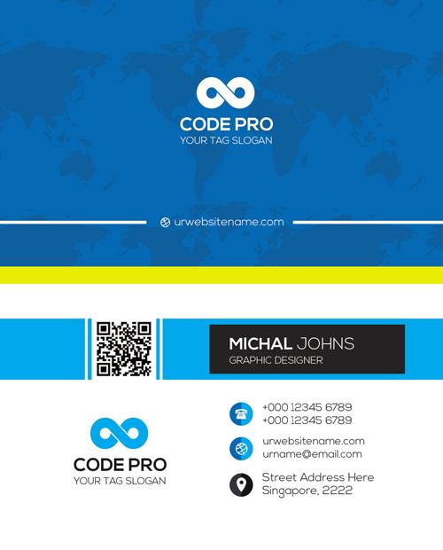 m55 - لایه باز کارت ویزیت / تجاری / کسب و کار / مدرن / معرفی شرکت