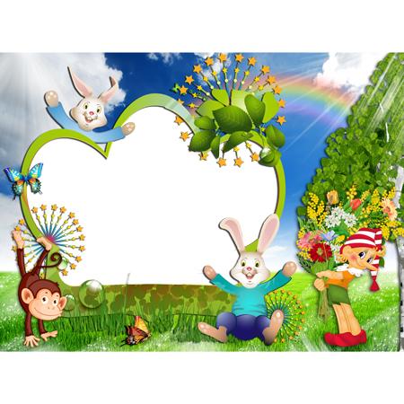 m238 - دانلود لایه باز فریم های کارتونی و انیمیشینی برای طراحی تراکت و پوستر مهدکودک و پیش دبستانی و کودکان