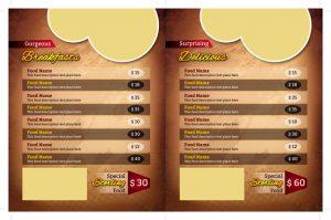 m254 300x199 - دانلود لایه باز تراکت یا پوستر منوی رستوران،کافه،اغذیه فروشی،کافی شاپ
