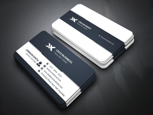 m293 - لایه باز کارت ویزیت / تجاری / کسب و کار / مدرن / معرفی شرکت