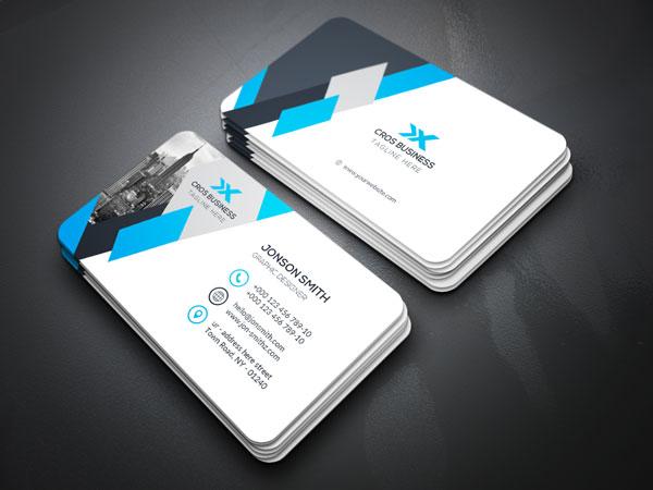 m296 - لایه باز کارت ویزیت / تجاری / کسب و کار / مدرن / معرفی شرکت