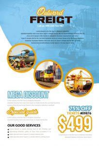 m324 204x300 - دانلود لایه باز تراکت یا پوستر باربری و حمل و نقل
