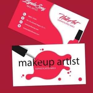 business card for makeup artist cards 300x300 - آرایشی
