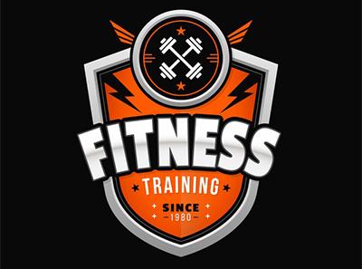 flat design fitness logo template 23 2148211274 - دانلود لوگو باشگاه بدنسازی به صورت (AI)