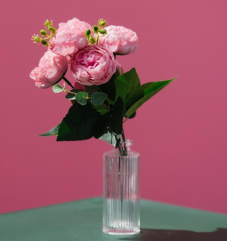 1231221 - عکس با کیفیت گل رز درون فنجون