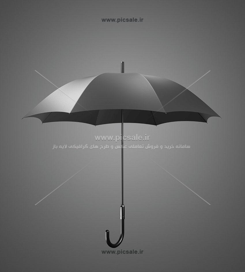 00242 - چتر مشکی یا سیاه / نماد بیمه