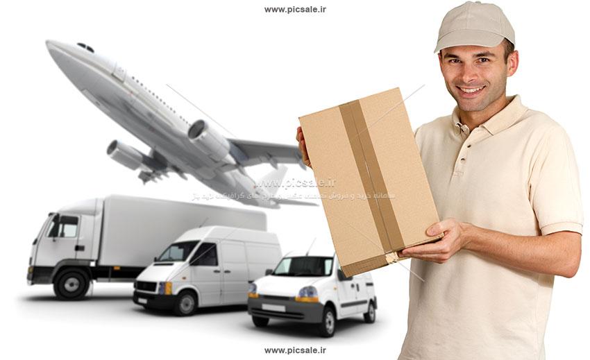 00389 - مردی با لبخند و بسته پستی / راه های پست محصول