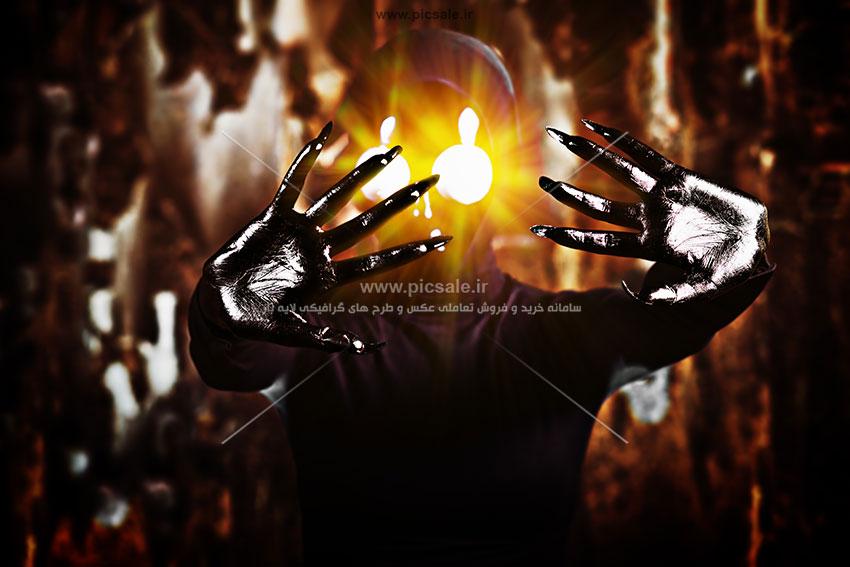 00410 - شیطان سیاه آدم فضایی