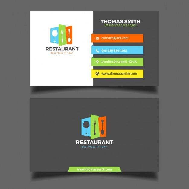 0560s - لایه باز کارت ویزیت / رستوران