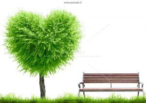 001006 300x212 - درخت بهاری قلبی عاشقانه