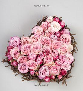 0010104 275x300 - قلب با گلهای زیبای عاشقانه