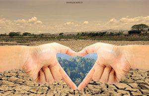 0010123 300x193 - قلب با دست در زمین خشک