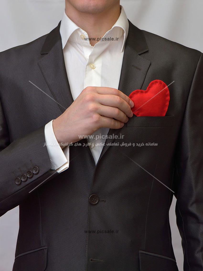 0010135 - قلب قرمز عاشقانه