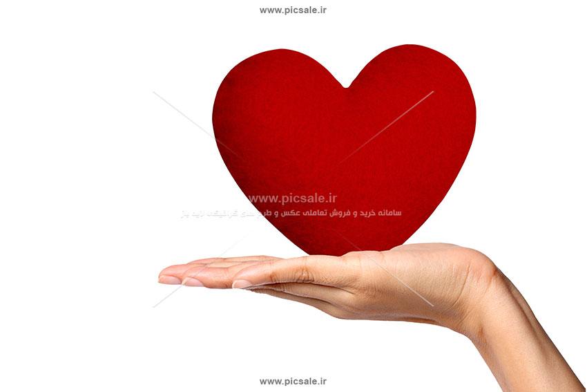 0010137 - قلب قرمز عاشقانه