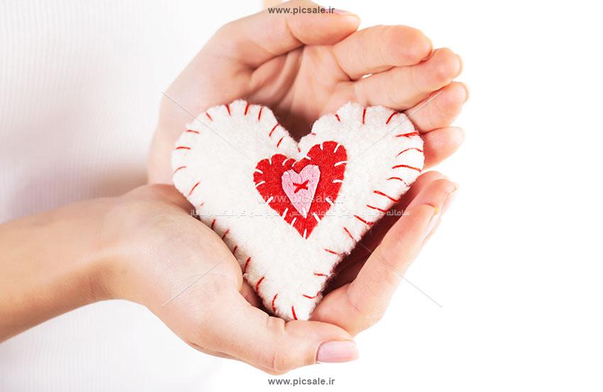 0010139 - قلب نمدی عاشقانه