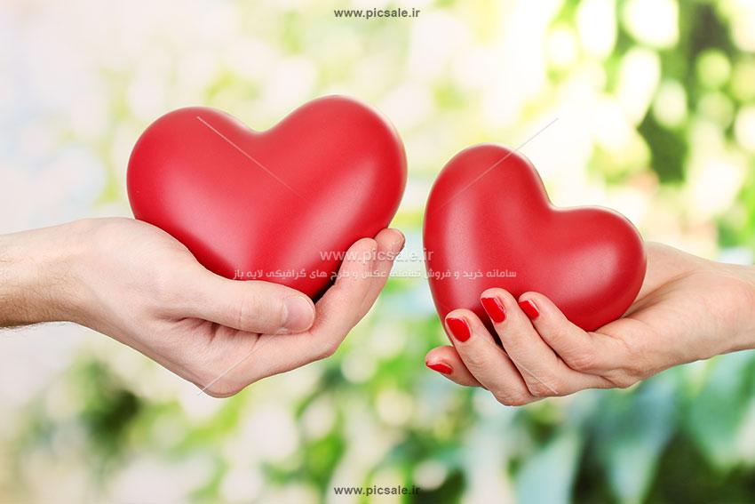 0010140 - قلب های قرمز عاشقانه