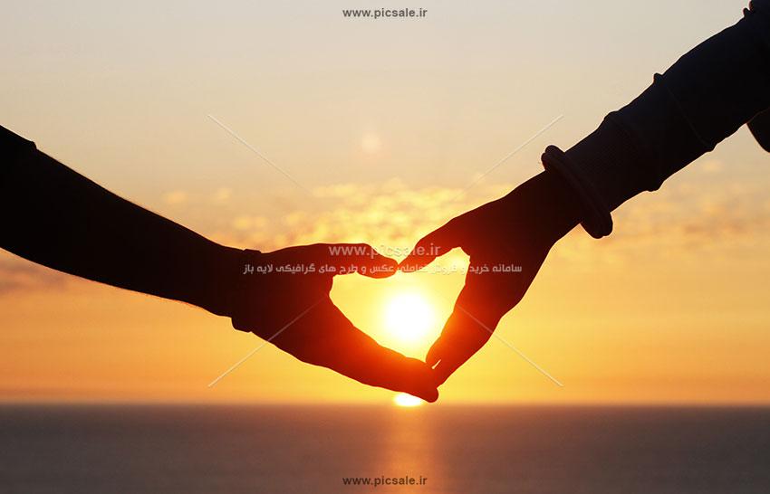 0010141 - قلب زیبا با دست