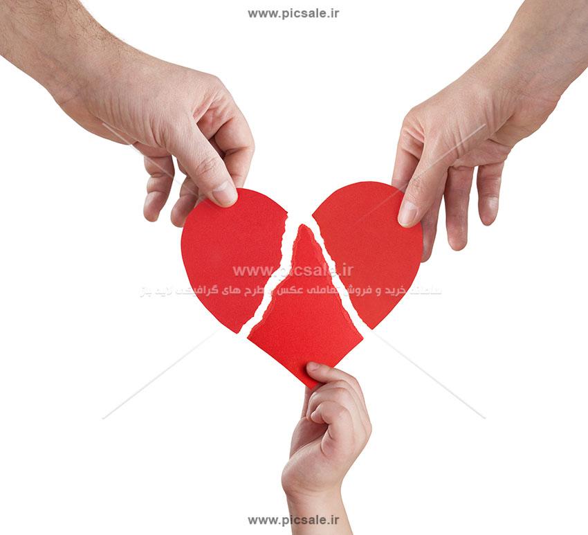 0010142 - قلب شکسته در دست
