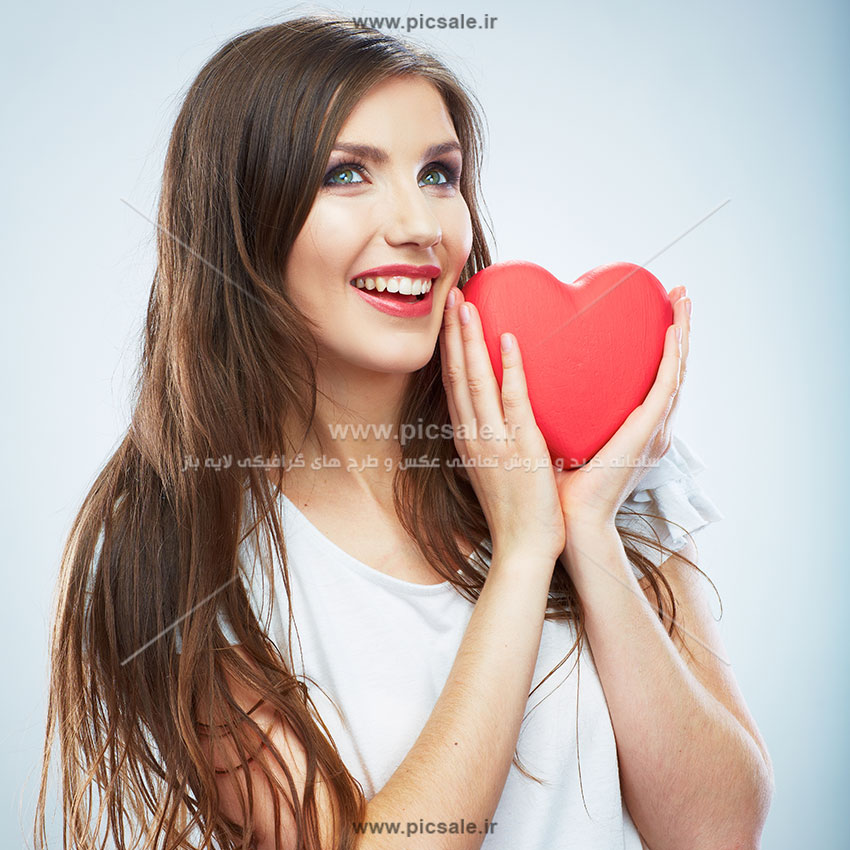 0010146 - قلب قرمز عاشقانه