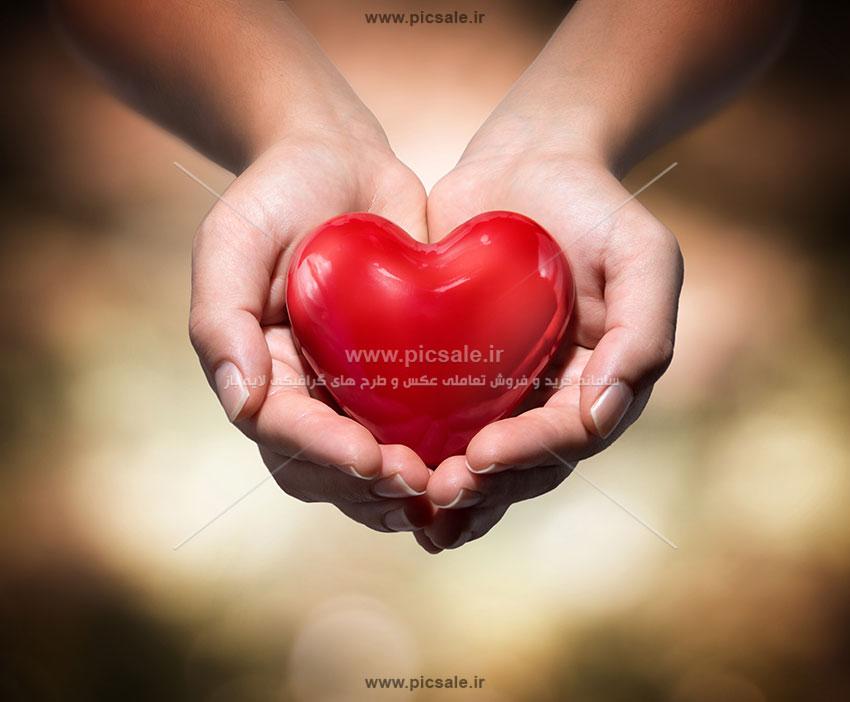 0010147 - قلب قرمز عاشقانه